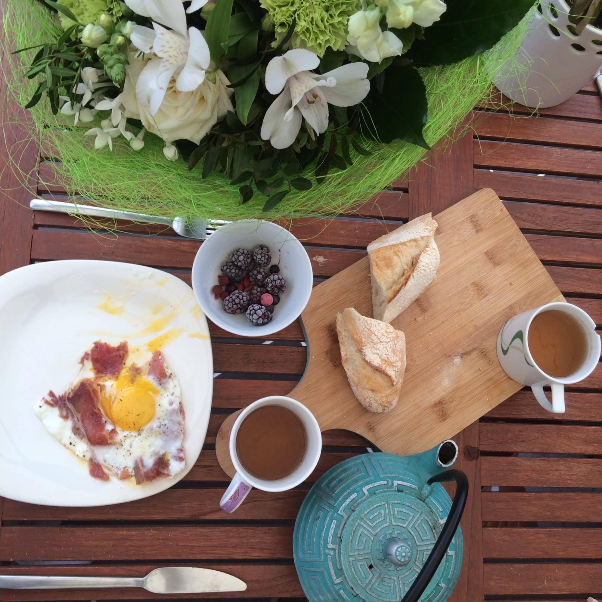 Le thé au petit déjeuner? Primordial